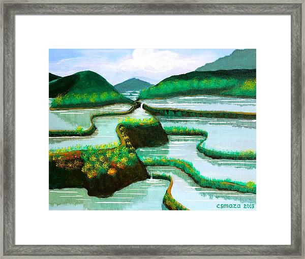 Banaue Framed Print
