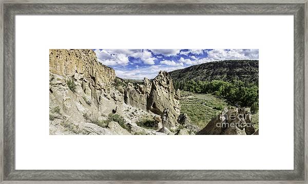 Bandelier National Monument  Framed Print