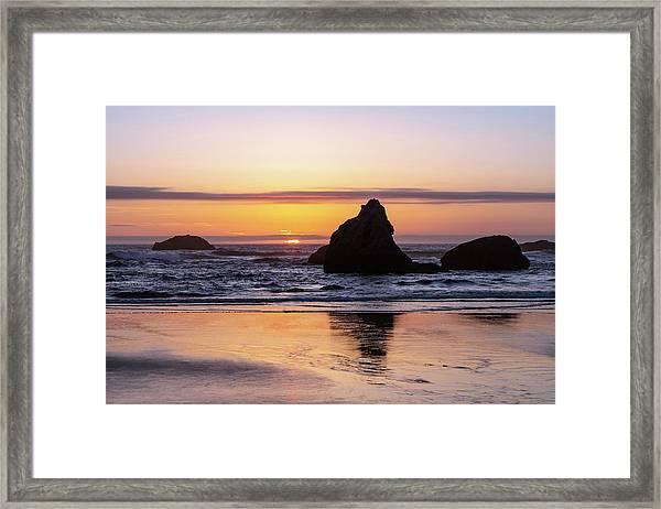 Bandon Glows Framed Print