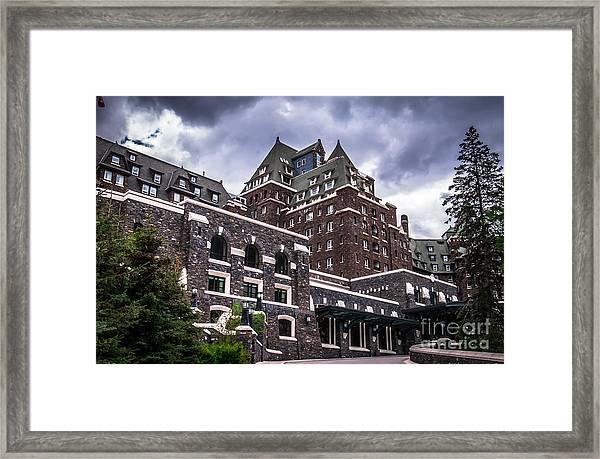 Banff Springs Hotel Framed Print