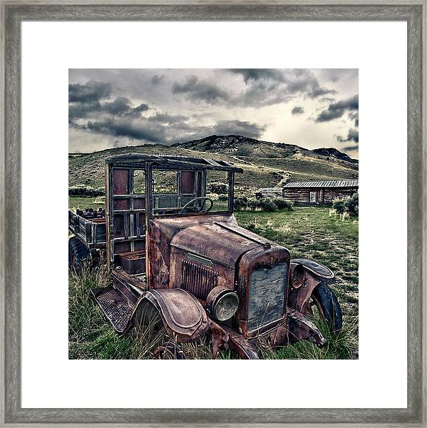 Bannack International - Square Framed Print by Renee Sullivan