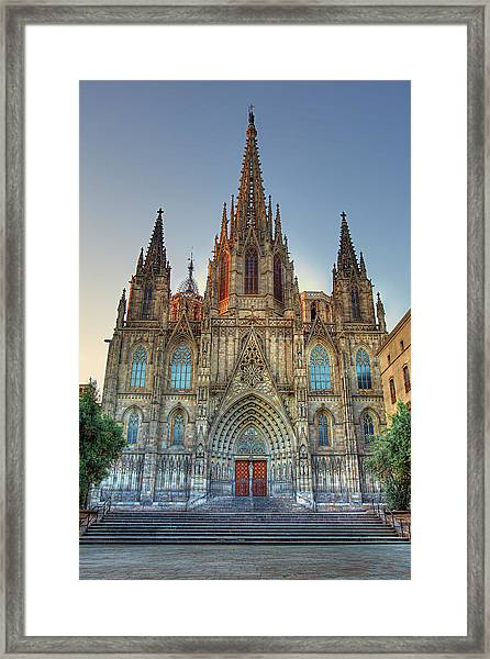 Barcelona Cathedral Framed Print