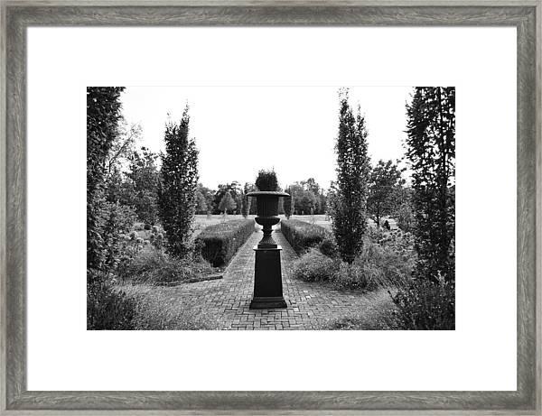 Bardstown Garden  Framed Print