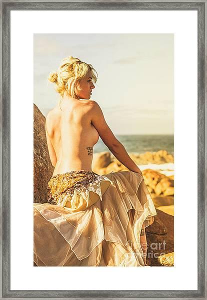 Bare Elegance Framed Print