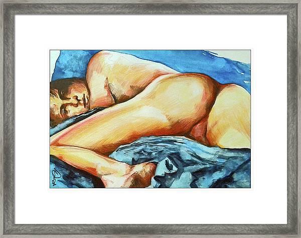 Naked Bare Truth Framed Print