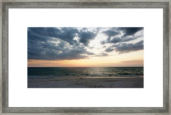Barefoot Beach Framed Print
