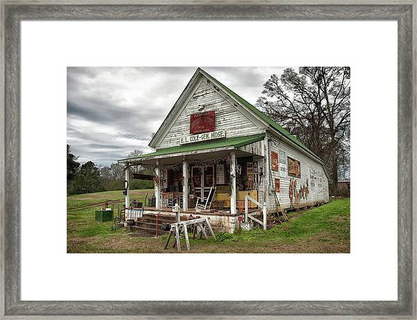 Barfield General Store Framed Print