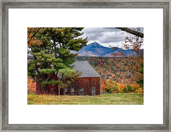 Barn Number Three Framed Print