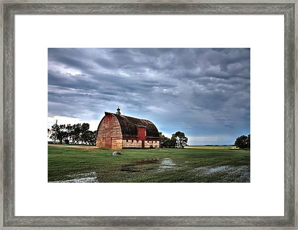 Barn Storming Framed Print