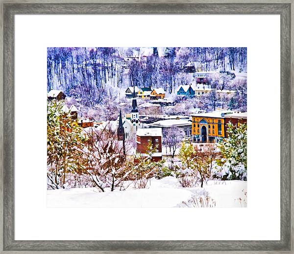 Barre From Bdp Framed Print