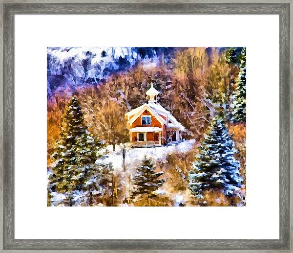 Barre House Framed Print