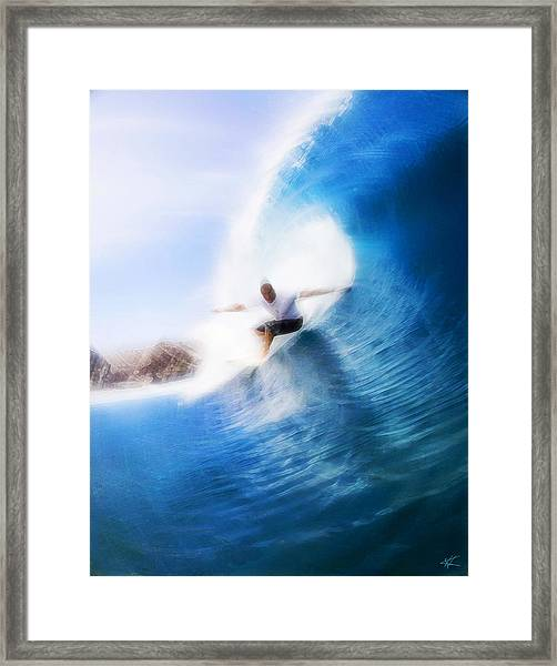 Barrels Of Fun Framed Print