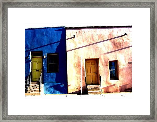 Barrio Viejo 1 Framed Print