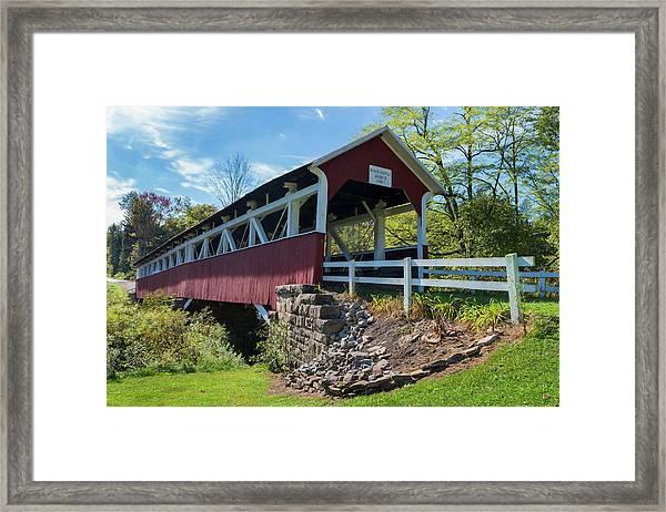 Barronvale Bridge  Framed Print