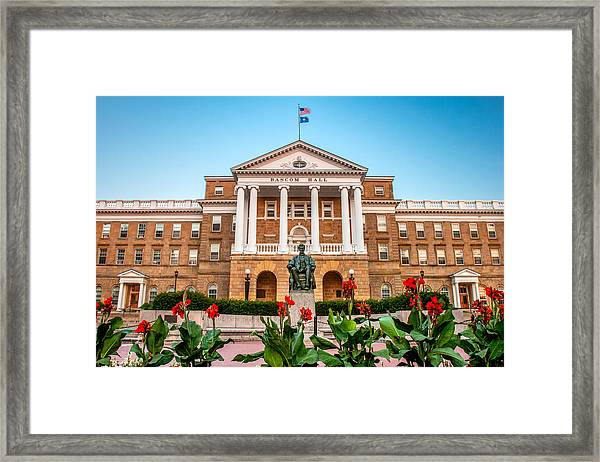 Bascom Hall Framed Print