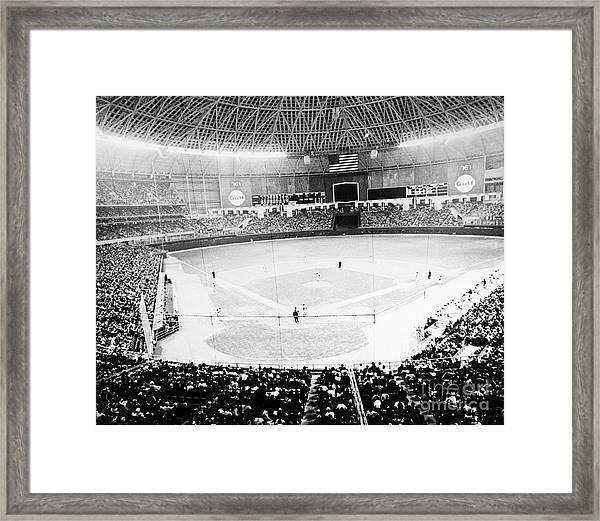 Baseball: Astrodome, 1965 Framed Print