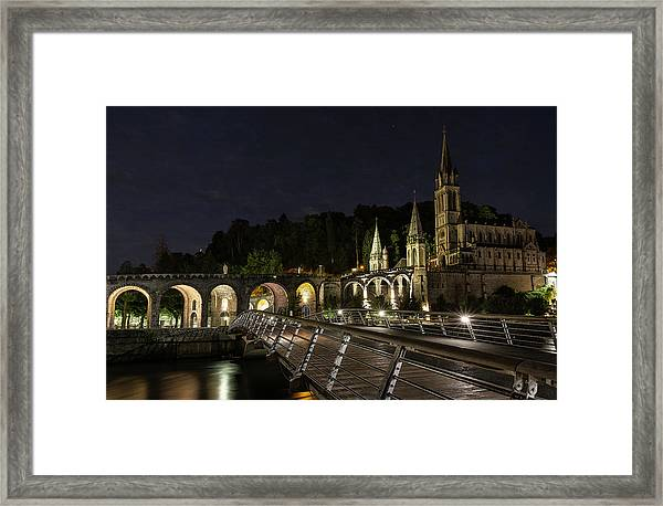 Basilica Of The Immaculate Conception Framed Print