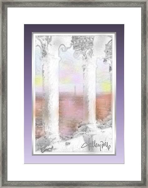 Sacre - Coeur Sunset Framed Print