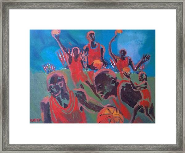 Basketball Soul Framed Print