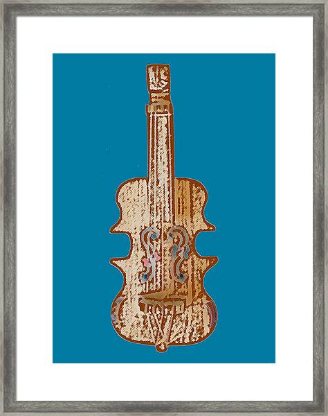 Bass Instrument Framed Print