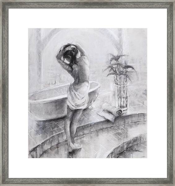 Bathed In Light Framed Print