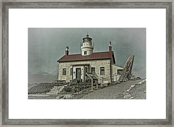 Battery Point Lighthouse Framed Print