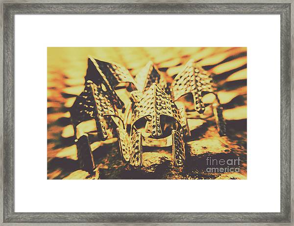 Battle Armoury Framed Print