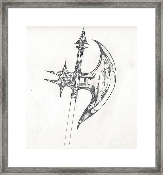 Battle Axe Framed Print