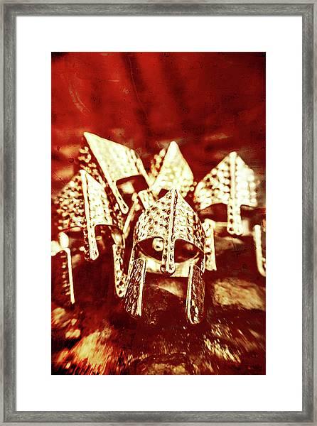 Battlefield Of Lost Empires Framed Print