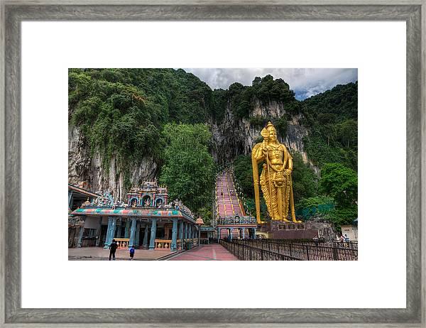 Batu Caves Framed Print