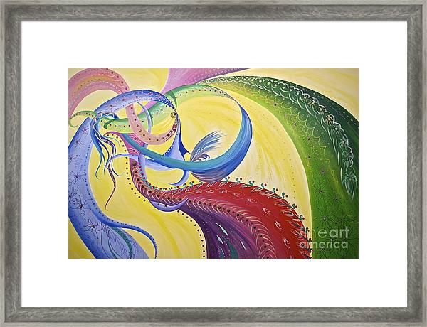 Baubles N Bows Framed Print