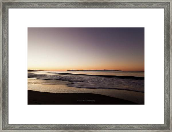 Bay At Sunrise Framed Print
