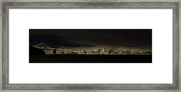 Bay Bridge San Francisco Framed Print