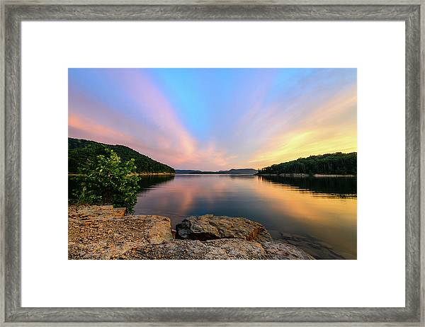 Bay Light Framed Print