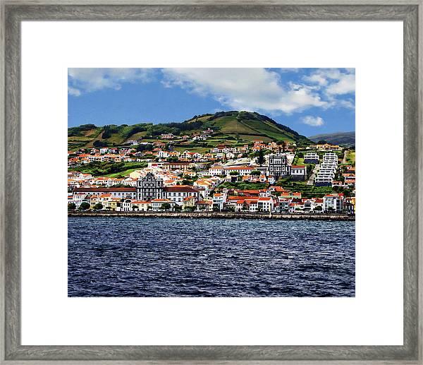 Bay Of Horta Framed Print