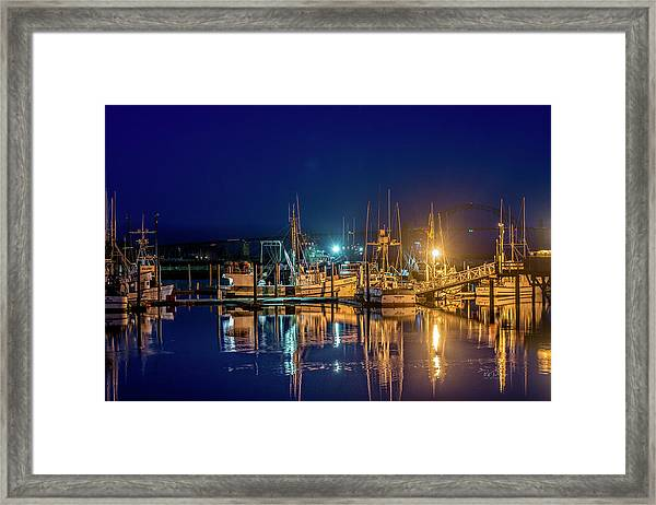 Bayfront Morning Framed Print