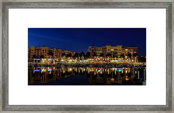 Bayfront Framed Print