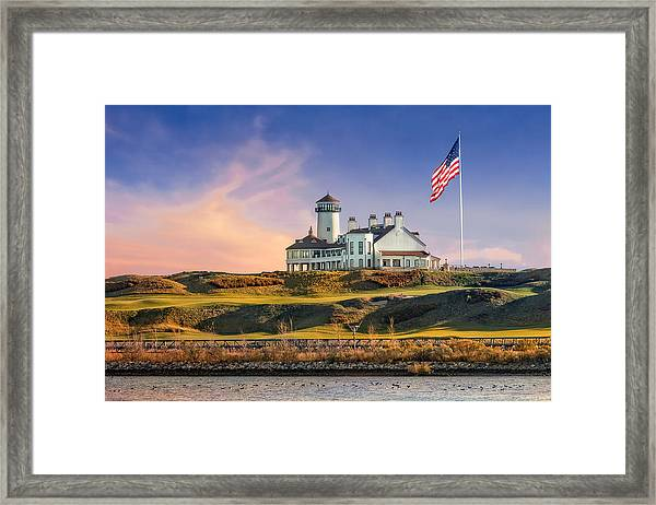 Framed Print featuring the photograph Bayonne Golf Club by Susan Candelario