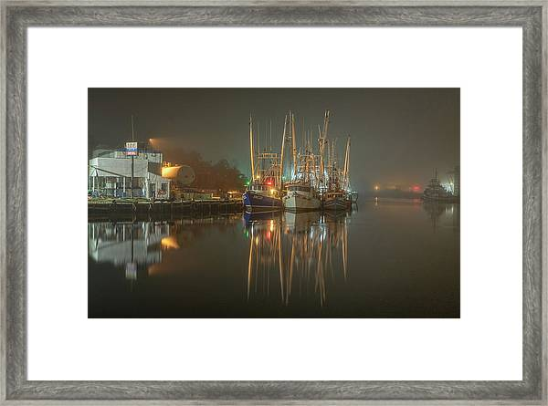 Bayou Fog #1 Framed Print