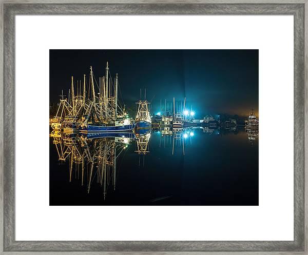 Bayou Nights Framed Print