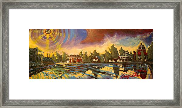 Bayou St John New Orleans Framed Print