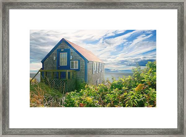 Bayside Retreat Framed Print