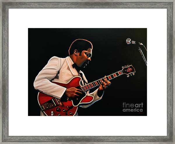 B. B. King Framed Print