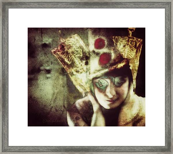 Be Careful What You Wish For Framed Print