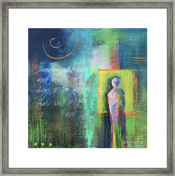 Be Free Framed Print
