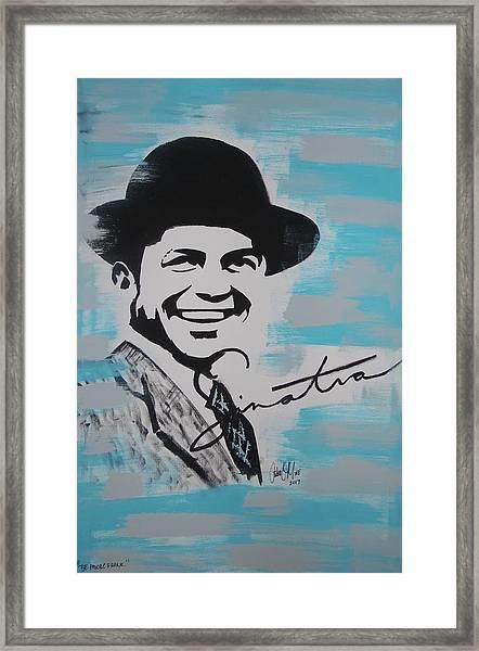 Be Moore Frank Framed Print
