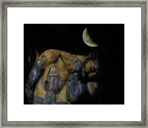 Be The Light In Our Darkness  Framed Print