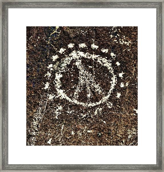 Be With You Framed Print