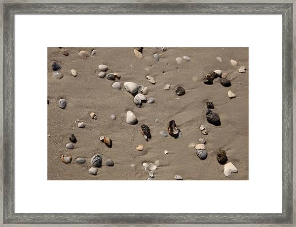 Beach 1121 Framed Print