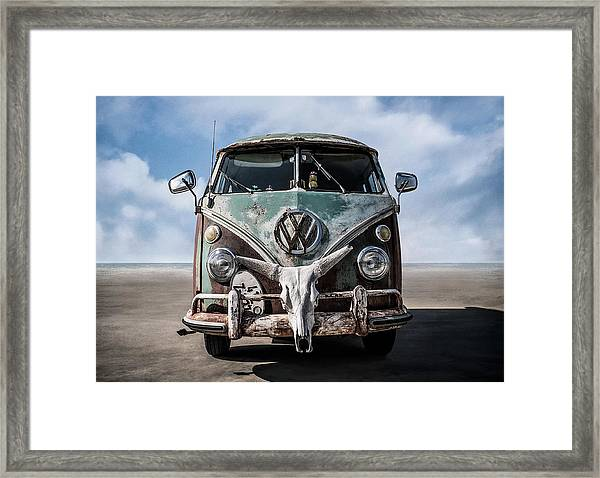 Beach Bum Framed Print